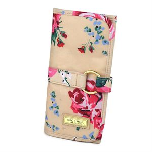 Picture of Gigi Hill Mikayla Antique Floral Brush Roll